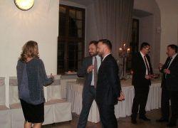 Spotkanie noworoczne gospodarki morskiej w Szczecinie, Elżbieta Kubowska morskim dziennikarzem roku!