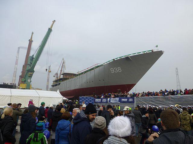 الجزائر تبني السفينة الشراعية  في بولونيا والتسليم في 2016 - صفحة 2 Wodowanie-015