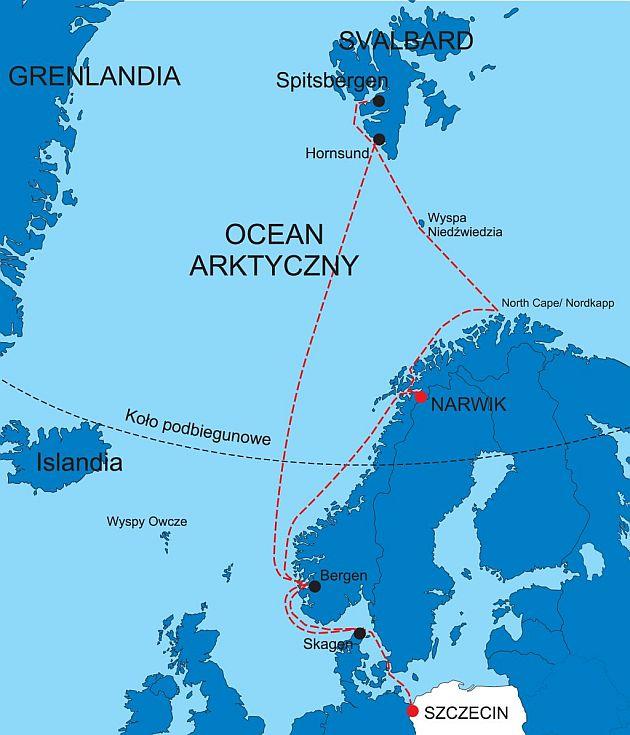 mapa Wyprawa Narvik 2015 TEN odchudzona