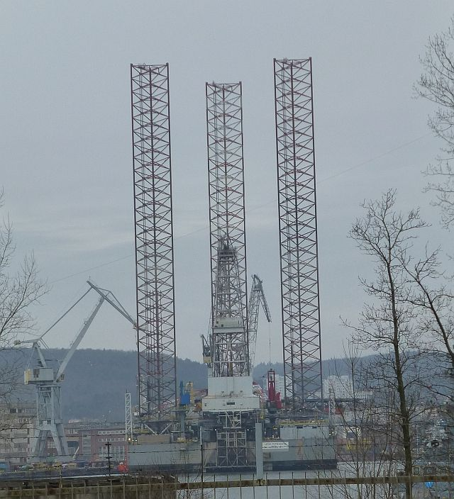 Plaftorma Petrobaltiku w Stoczni Nauta