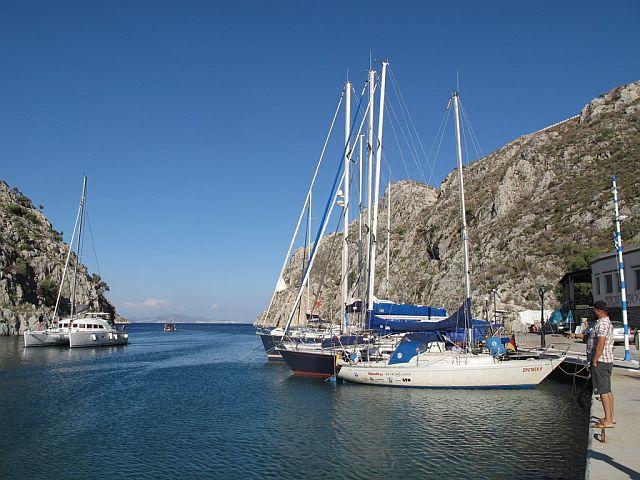 Fiord Vathis na Kalimnos