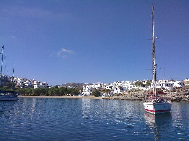 Kotwicowisko Naoussa na Paros