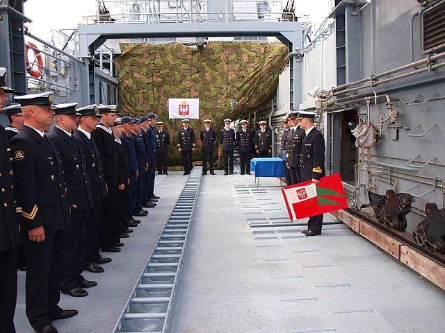 Zmiany dowódców okrętów 8FOW. Foto Arkadiusz Szwajda (1)