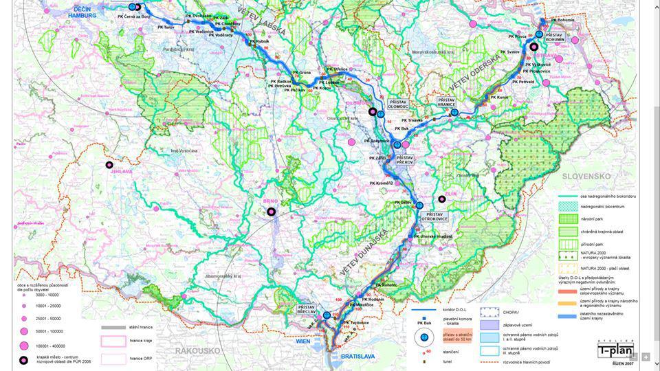 Wplyw Budowy Kanalu Odra Dunaj Laba Na Polska I Europejska Zegluge