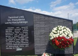 Terminal LNG w Świnoujściu imienia Lecha Kaczyńskiego - galeria zdjęć