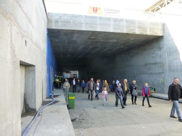 Wylot tunelu