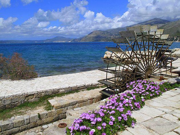 Młyn wodny w Argostoli