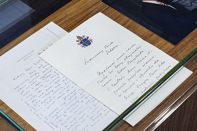 List JPII do prof. Z. Brzezińskiego