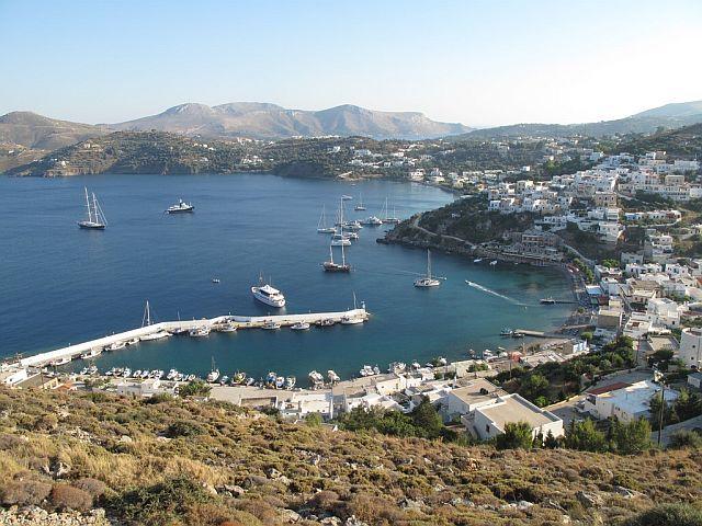 Panteli na wyspie Leros
