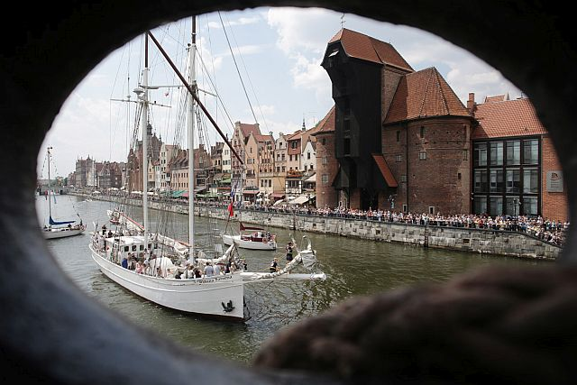 06.07.2014 Gdańsk. Baltic Sail 2014. photo: Domink Werner / www.testigo.pl