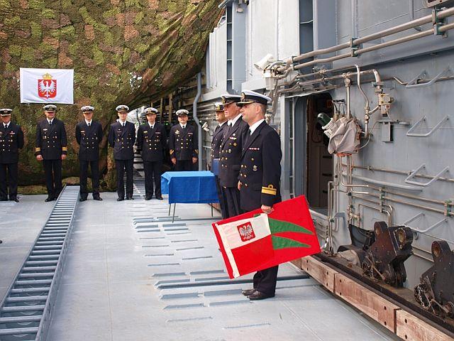Zmiany dowódców okrętów 8FOW. Foto Arkadiusz Szwajda (3)
