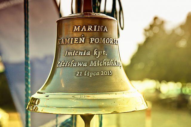 dzwon w Marinie Kamień Pomorski