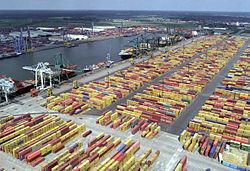 Antwerpia port