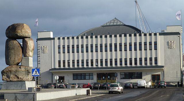Dworzec Morski, w którym mieści się Muzeum Emigracji
