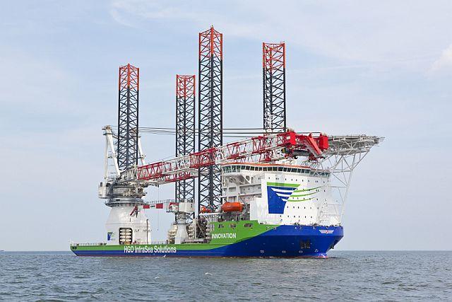 Statek typu jack-up