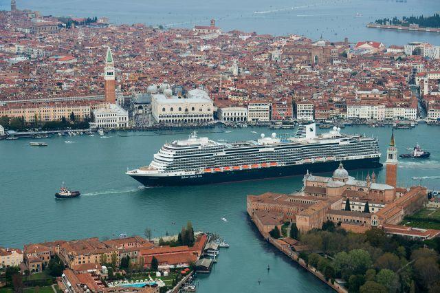 Koningsdam Aerial Venice